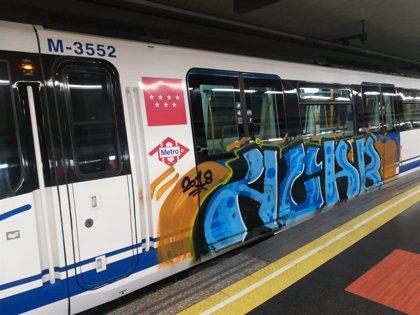 Un juez celebra mañana el juicio de los vigilantes de Metro contra la empresa por no protegerlos ante grafiteros