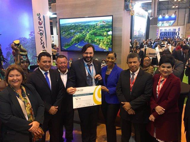 TUI recibe el premio a la promoción de Centroamérica