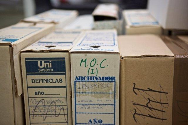 Documentación depositada en el Archivo de la Democracia