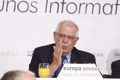 """Borrell quiere una posición europea sobre Venezuela, sin """"hacer seguidismo"""""""