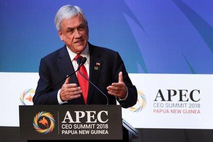 """Piñera reconoce a Guadió como """"presidente encargado"""" de Venezuela y le ofrece su apoyo"""