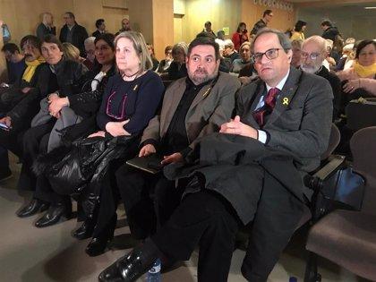 """Quim Torra pide unidad del independentismo para """"estar a la altura"""" del momento histórico"""