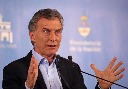 """Macri anuncia el reconocimiento de Argentina a Guaidó como """"presidente encargado"""" de Venezuela"""