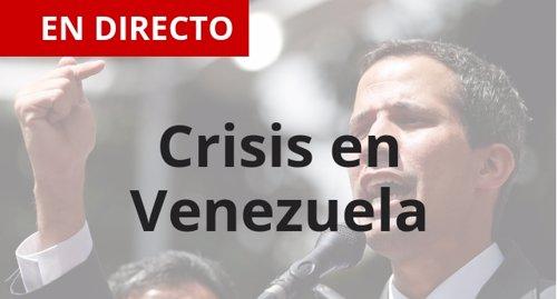 Crisis en Venezuela, directo
