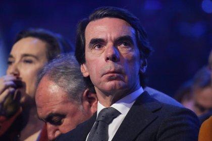 """Aznar reconoce a Guaidó como presidente de Venezuela y reclama """"apoyo internacional"""""""