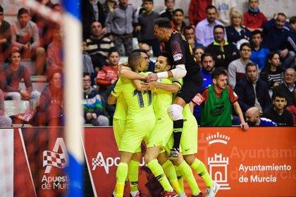 El Barça completa la 'Final Four' tras eliminar a ElPozo Murcia en los penaltis