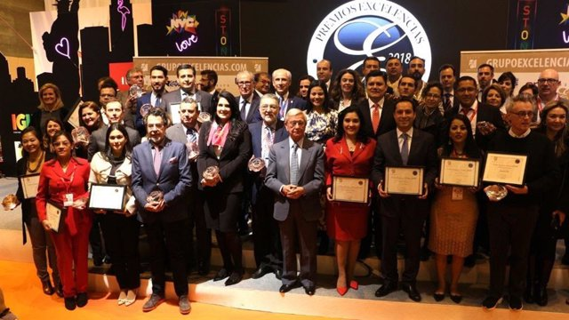 Premios Excelencias 2018