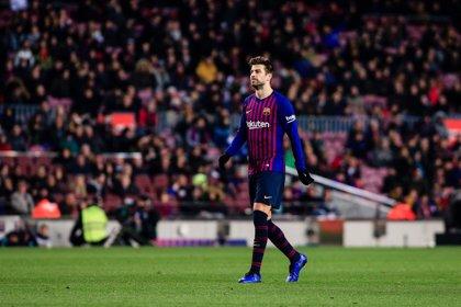 """Piqué: """"El rendimiento ha sido bueno pero el Sevilla fue un poco mejor"""""""