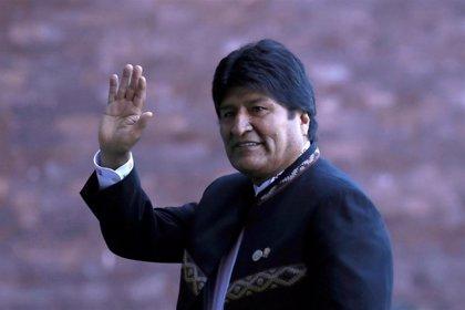 """Evo Morales responsabiliza a EEUU de promover """"un golpe de Estado"""" en Venezuela"""
