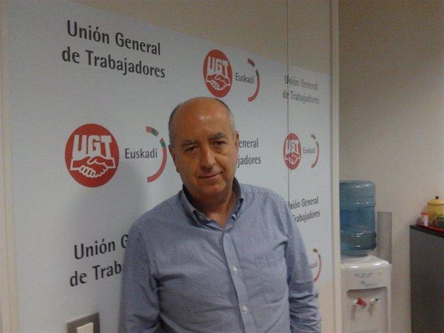 Rául Arza (UGT Euskadi)