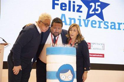 El FIB, homenajeado en su 25 aniversario por posicionar a Castellón