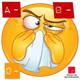 Infografía Centro Hemodonación falta de sangre ante la gripe