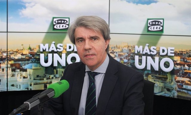 El presidente de la Comunidad de Madrid, Ángel Garrido, en Onda Cero