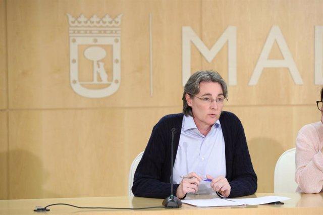 Marta Higueras, teniente de alcalde de Madrid