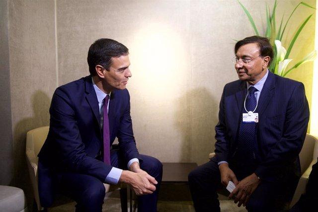 Pedro Sánchez participa en el Foro Económico Mundial de Davos