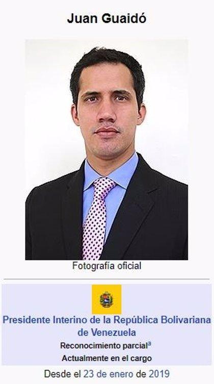 Instagram y Facebook no verifican las cuentas de Maduro y Wikipedia reconoce a Guaidó como presidente interino