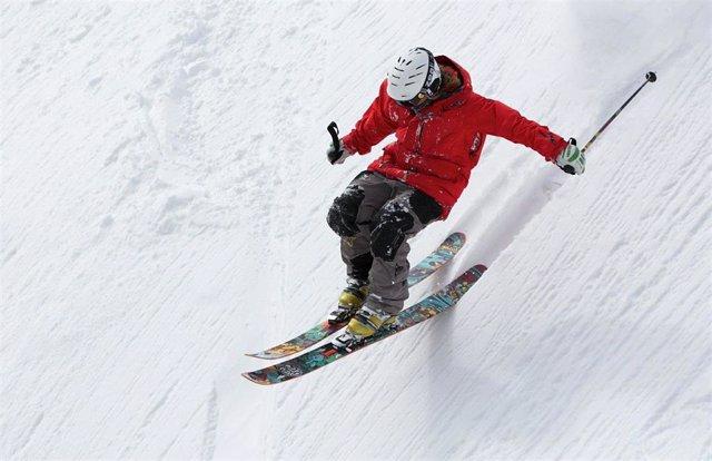Esquiar, esquí, nieve