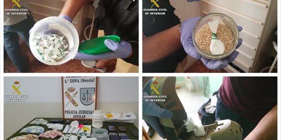 5. Desmantelado un grupo criminal dedicado al tráfico de cocaína de gran pureza en Murcia, Águilas y Alicante
