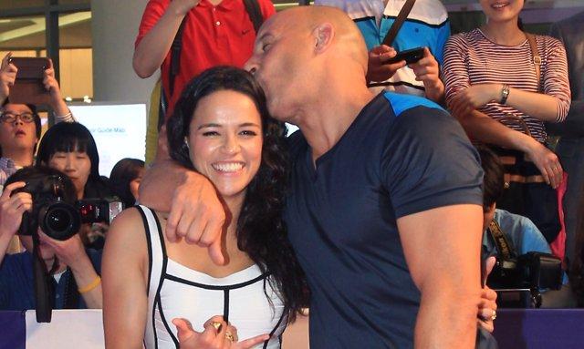 Vin Diesel y Michelle Rodrígez