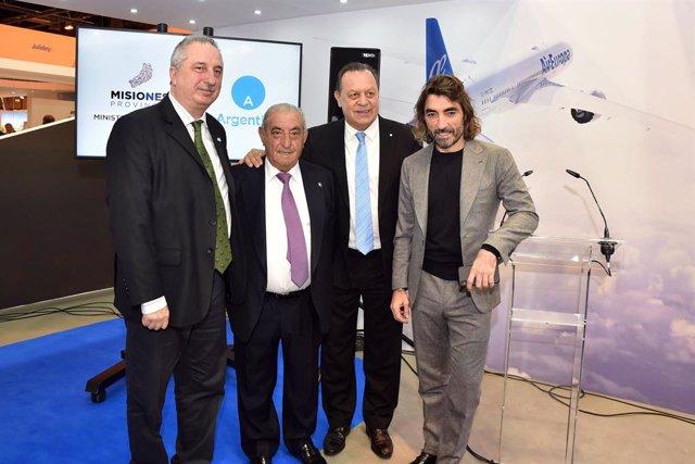 Presentación de nuevas rutas de Air Europa en Fitur