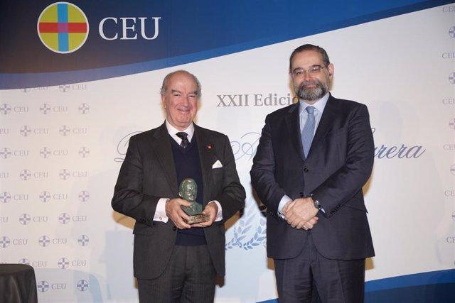 Antonio Sáinz de Vicuña  y Alfonso Bullón de Mendoza