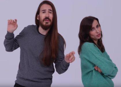 Zahara y Carlos Sadness, discusión de pareja en el nuevo videoclip de Bajo el mismo techo
