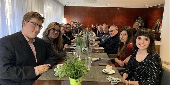 4. El arzobispo de Zaragoza pide a los periodistas que recojan el legado de San Francisco de Sales de libertad y verdad