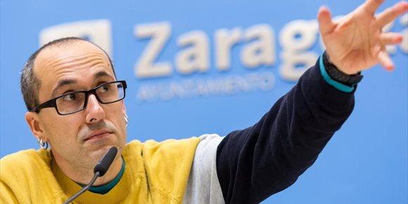 2. Cubero encabeza la única lista de IU a la Alcaldía de Zaragoza
