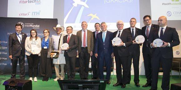 4. Paradores, Costa Cruceros y el Ministerio de Turismo de Colombia, ganadores de los premios de Turismo Responsable