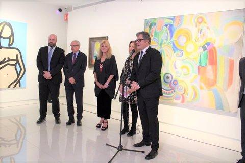 Carmen Thyssen presenta l'exposició 'Femina Feminae'