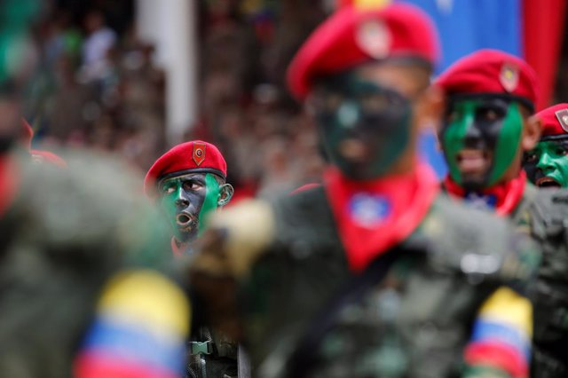 Militares venezolanos (archivo)