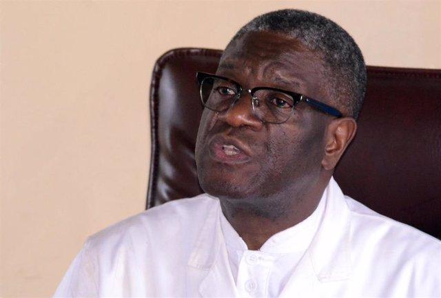 El doctor congoleño y Premio Nobel de la Paz Denis Mukwege