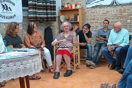Las plataformas 25N y 8M se solidarizan con la activista transexual Kim Pérez tras retomar su huelga de hambre
