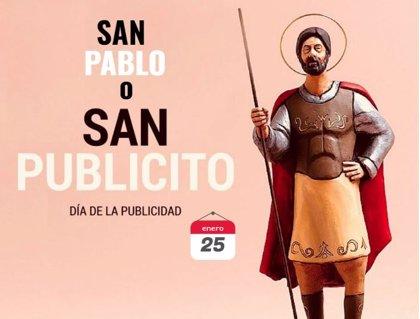 25 de enero: Día de San Pablo o San Publicito, patrón de la publicidad