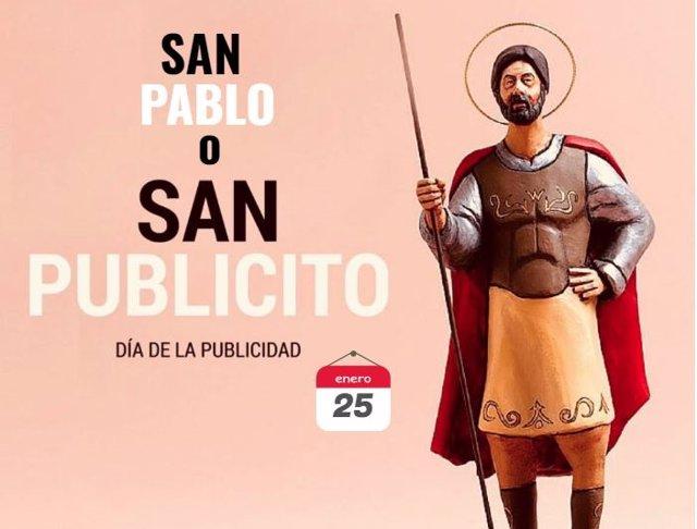 San Pablo o San Publicito, día de la publicidad