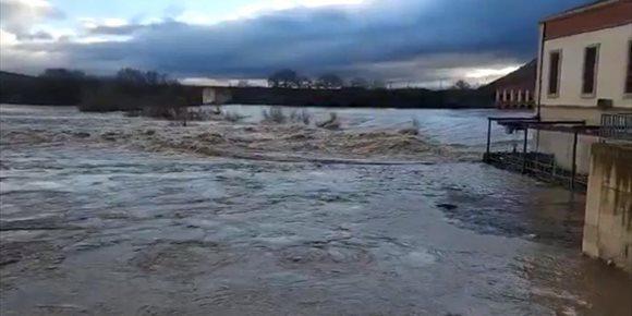 7. El Gobierno de Navarra activa la preemergencia ante la posibilidad de inundaciones por la crecida del río Ebro