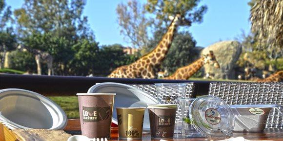 7. Bioparc elimina el plàstic d'un sol ús en els seus restaurants