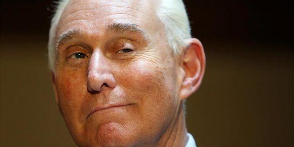 6. Roger Stone, uno de los asesores más cercanos a Donald Trump, imputado por obstrucción a la justicia