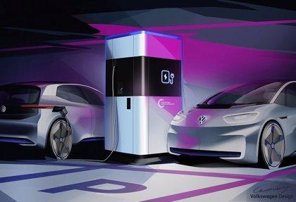 Volkswagen fabricará en Alemania su propia estación de carga para vehículos eléctricos a partir de 2020