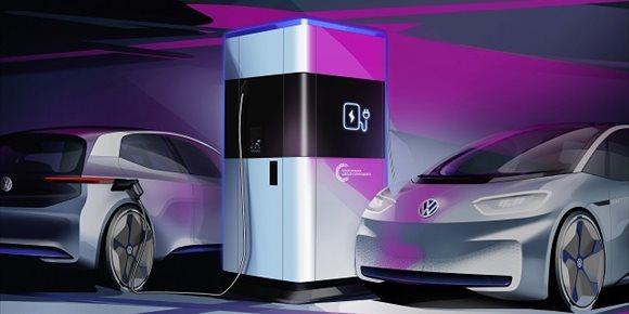 8. Volkswagen fabricará en Alemania su propia estación de carga para vehículos eléctricos a partir de 2020