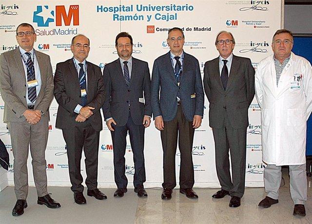 Jornada de cirugía maxilofacial en el Hospital Ramón y Cajal de Madrid