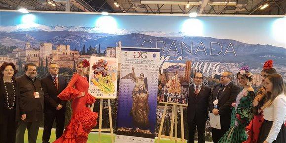 8. Granada promociona en Fitur su Corpus, Semana Santa y Día de la Cruz