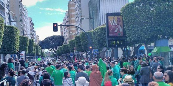 3. La Junta retuvo más de 320.000 euros en salarios por huelgas de los docentes de Almería el pasado curso
