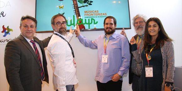 3. La Diputación de Granada presenta en Fitur el IV festival Sulayr, dedicado a las músicas fronterizas