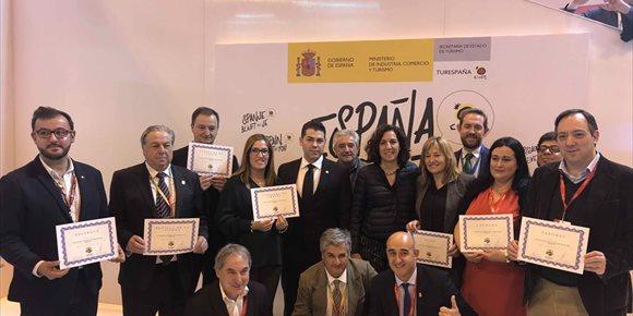 3. Once localidades reciben en Fitur la acreditación oficial como 'Pueblos más bonitos de España'