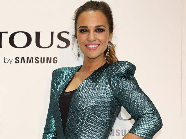 Paula Echevarría en la 'Mercedes Benz Fashion Week Madrid'