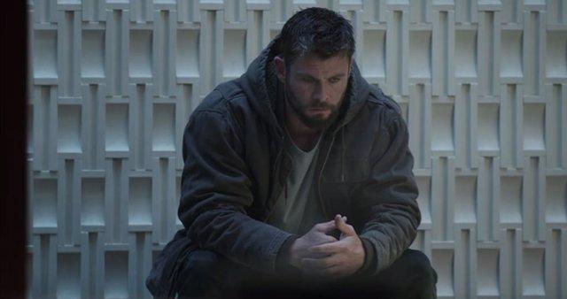 Thor en Vengadores: EndGame