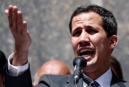 """Guaidó pide a la Unión Europea """"más presión"""" contra Maduro"""