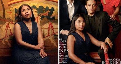 Yalitza Aparicio coprotagoniza la portada de Vanity Fair EEUU