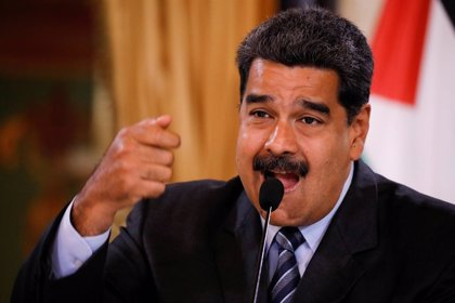 """Maduro pide a Trump que """"cambie toda esa política equivocada"""" y resolver la situación """"por las buenas"""""""